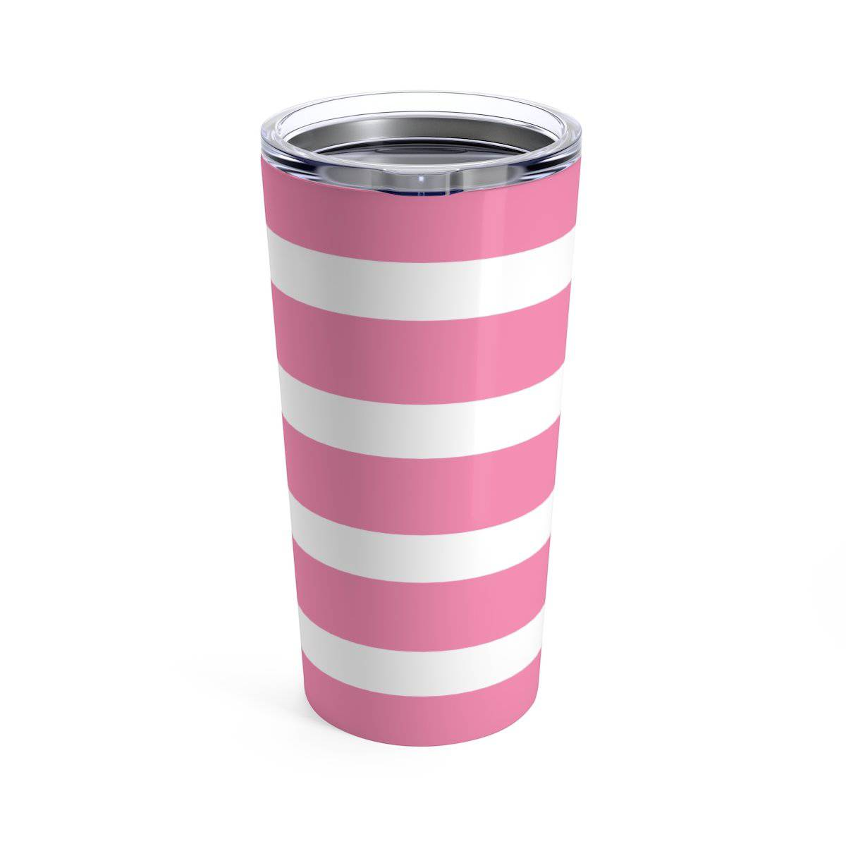 Pink Striped Pineapple Sip Sip Hooray 20 oz Tumbler - My Treasured Gifts Co