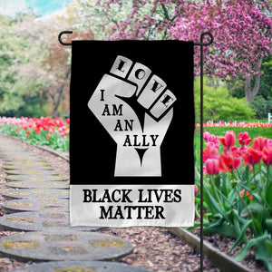 Black Lives Matter Garden or House Flag