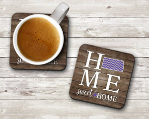 Home Sweet Home State Coaster Set