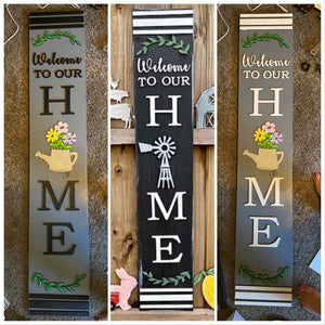 Welcome to our Home Porch Leaner - My Treasured Gifts Co