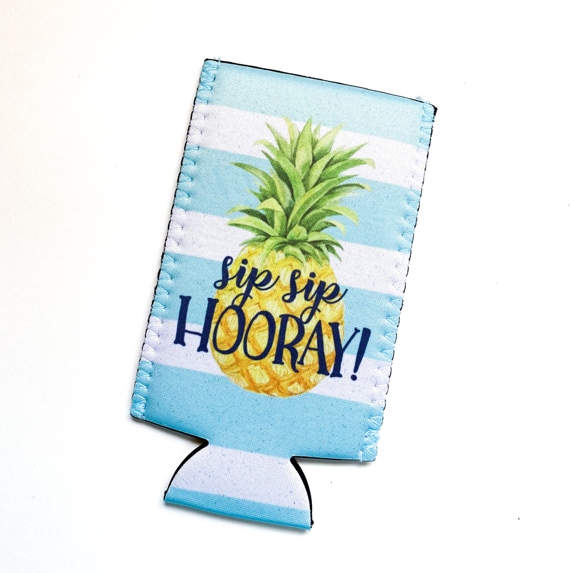 Pineapple Slim Can Hugger - My Treasured Gifts Co