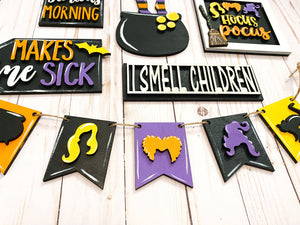 Hocus Pocus Tray Decor - My Treasured Gifts Co