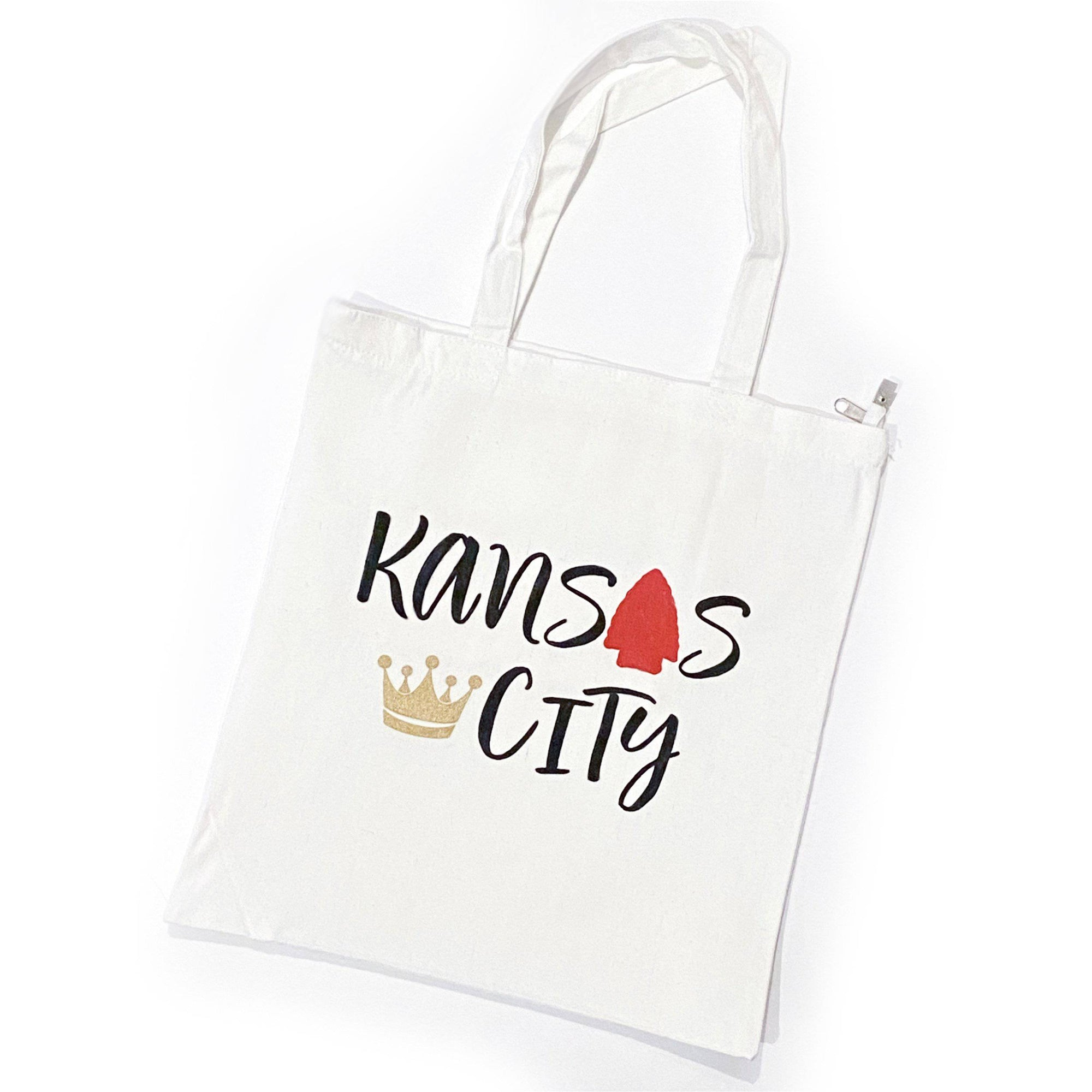 Kansas City Zippered Tote Bag