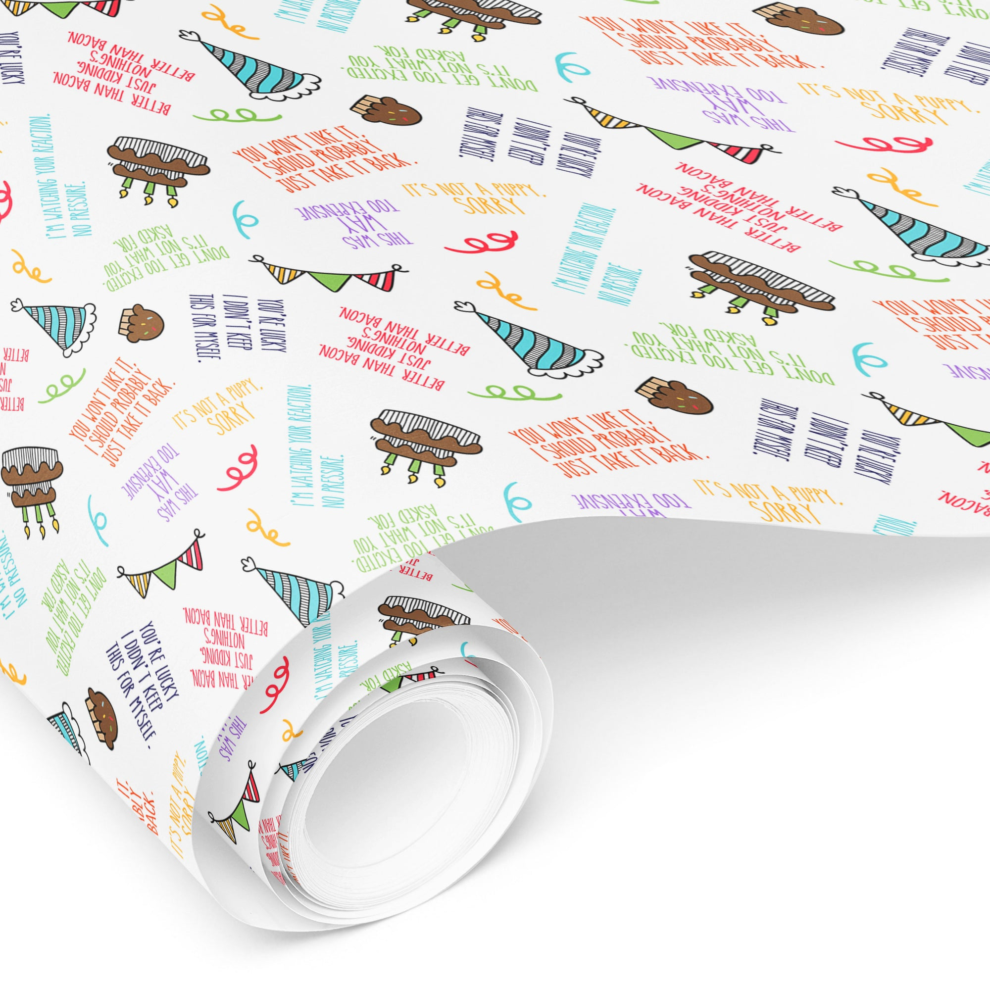 Funny Birthday Gift Wrap