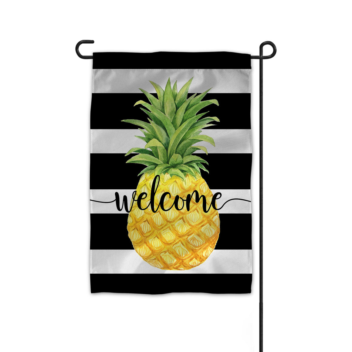 Double Sided Welcome Pineapple Garden Flag