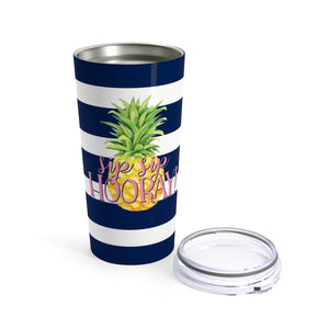 Seafoam Pineapple sip sip Hooray Tumbler 20oz - My Treasured Gifts Co