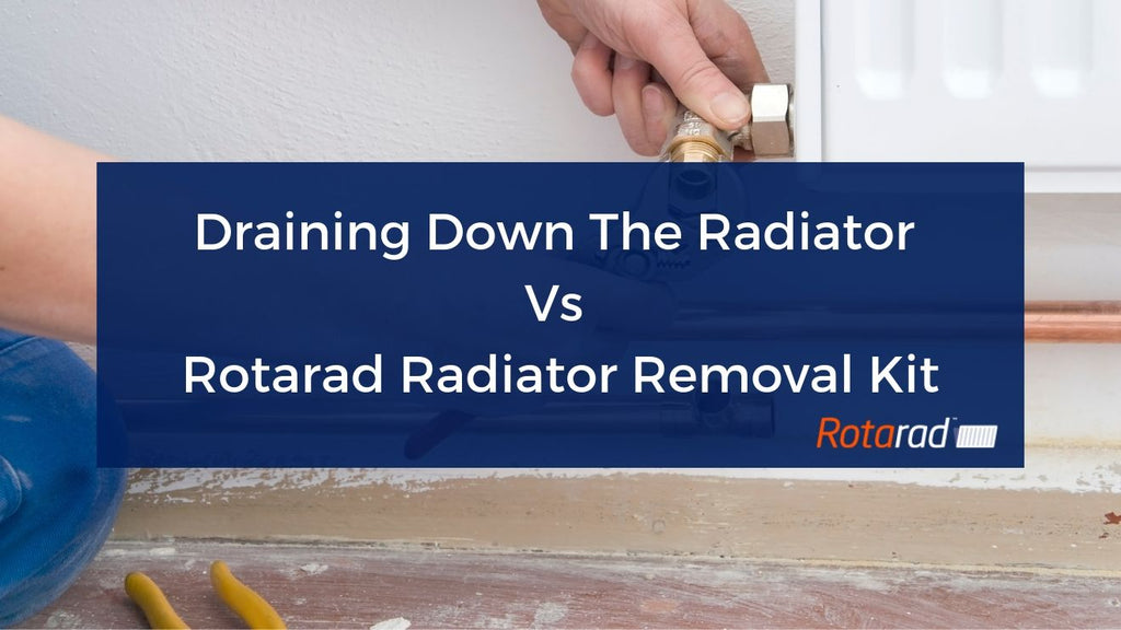 Draining Down The Radiator Vs Rotarad Radiator Removal Kit
