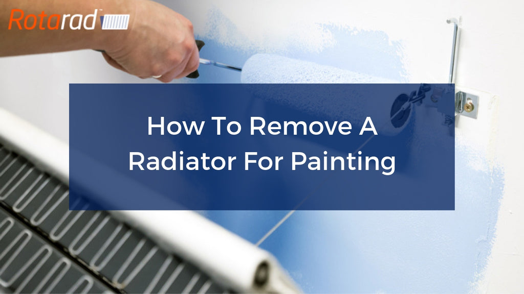 How To Remove A Radiator For Painting