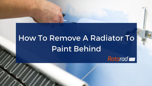 How To Remove A Radiator To Paint Behind
