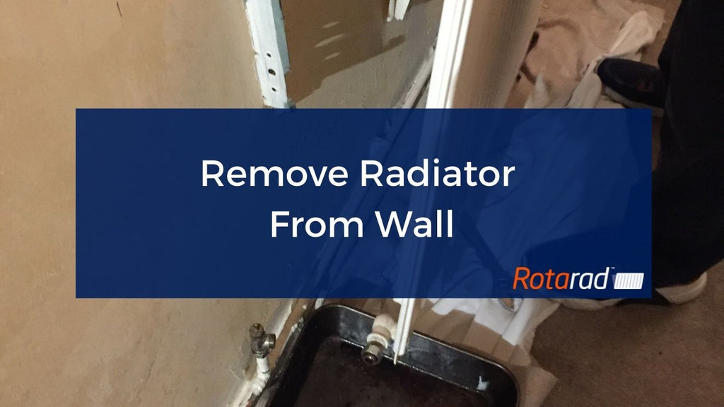 Remove Radiator From Wall
