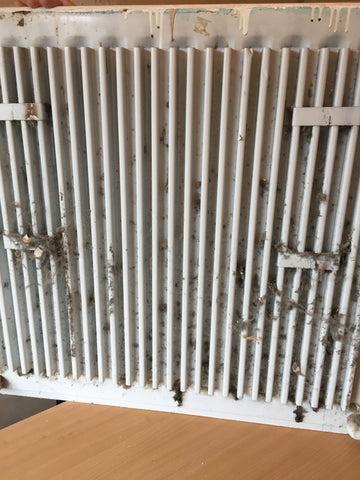 how to remove radiator from the wall - how to clean dirty radiators - how to get behind radiator