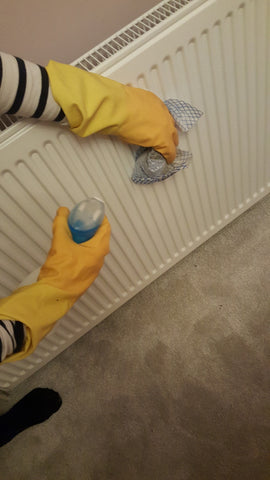 cleaning your radiator