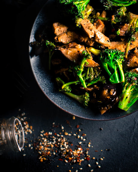 Eggplant + Broccoli Next Level Stir-Fry