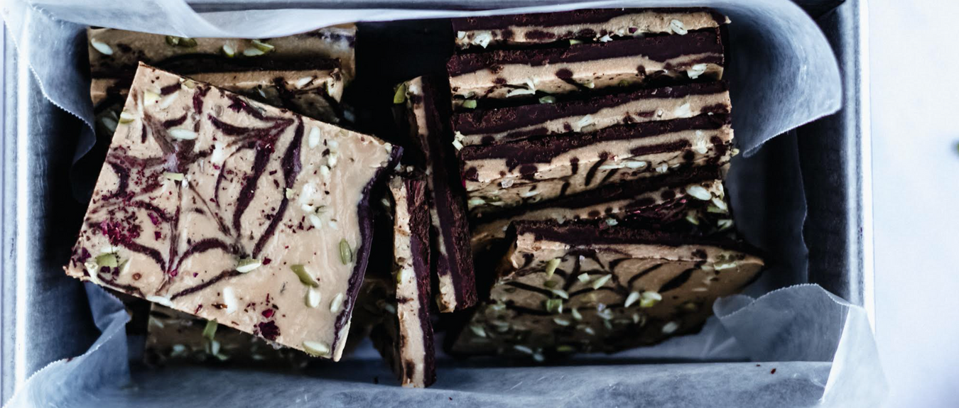 Salted Caramel Chocolate Bark with Rose