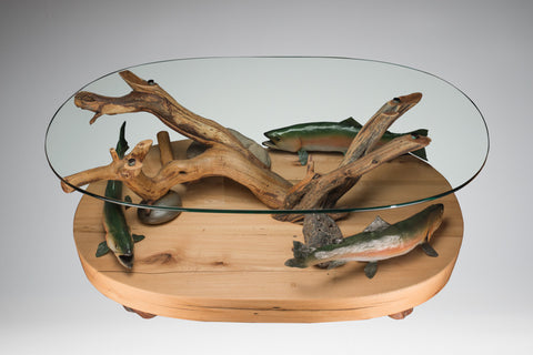Trout Table by Ronnie Turpin