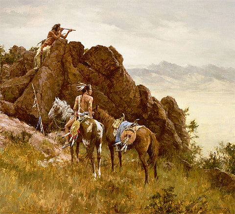 Far Seeing Glass by Howard Terpning