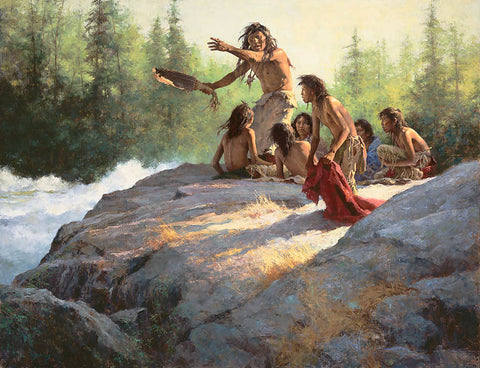 Mystery of the Underwater People by Howard Terpning