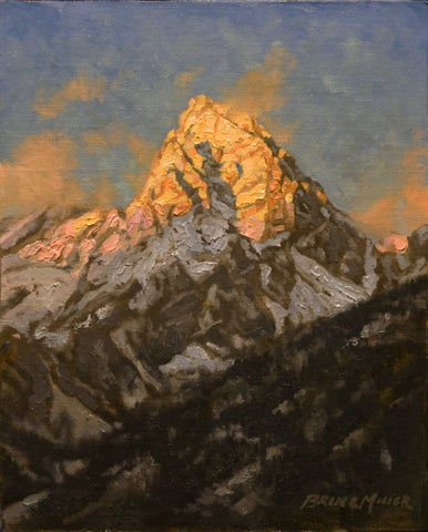 Grand Teton Study by Bruce Miller