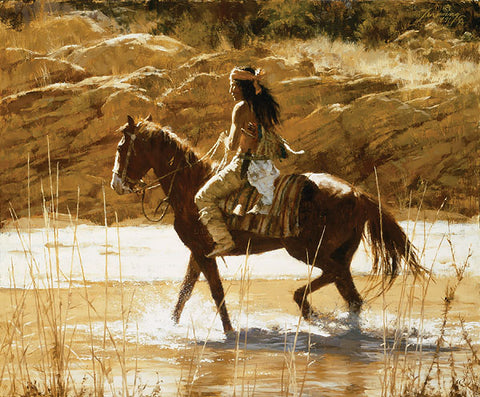 Captain's Horse by Howard Terpning