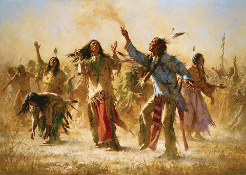 Hope Springs Eternal - Ghost Dance by Howard Terpning