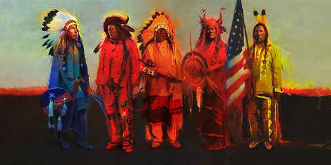 Men of Honor Limited Edition Canvas by R. Tom Gilleon