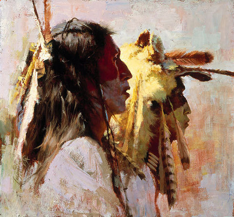 Proud Men by Howard Terpning