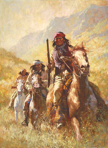 Legend of Geronimo by Howard Terpning