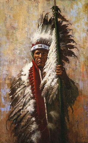 Strength of Eagles by Howard Terpning