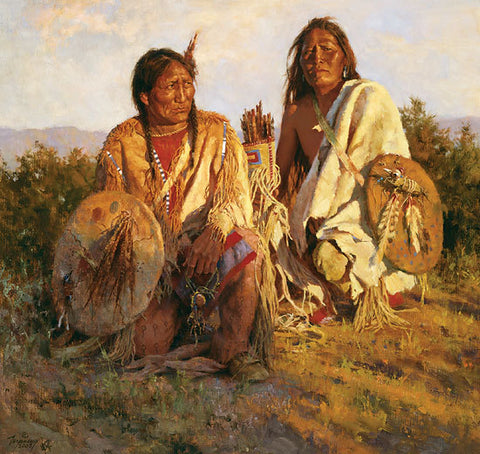 Medicine Shields of the Blackfoot  by Howard Terpning