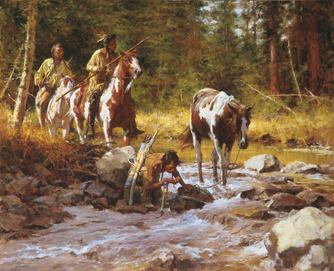 Nectar of the Gods  by Howard Terpning