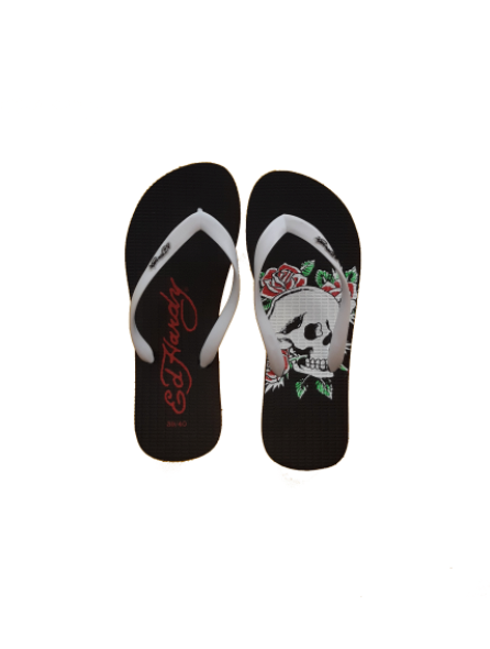 Chinelo Rose and Skull