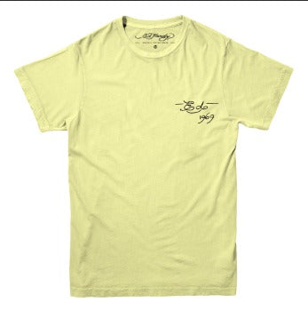 Camiseta Ed Hardy California Wave Amarelo