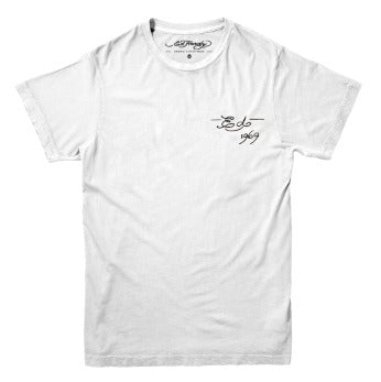 Camiseta Ed Hardy California Wave Branco