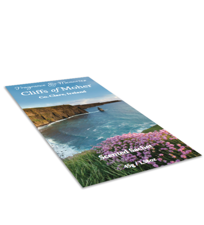 Fragrance & Memories - Cliffs of Moher Scented Sachet