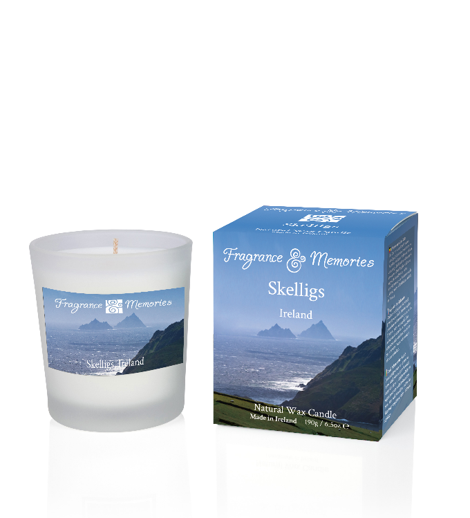 Fragrance & Memories of Ireland - Skelligs Travel Candle