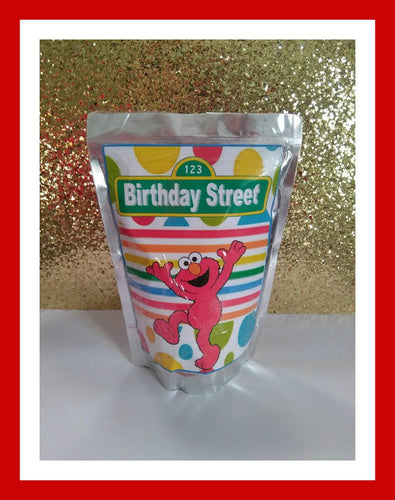 CapriSun juice Label Sesame street, Elmo, instant download, birthday party favor - Diva Accessories N More