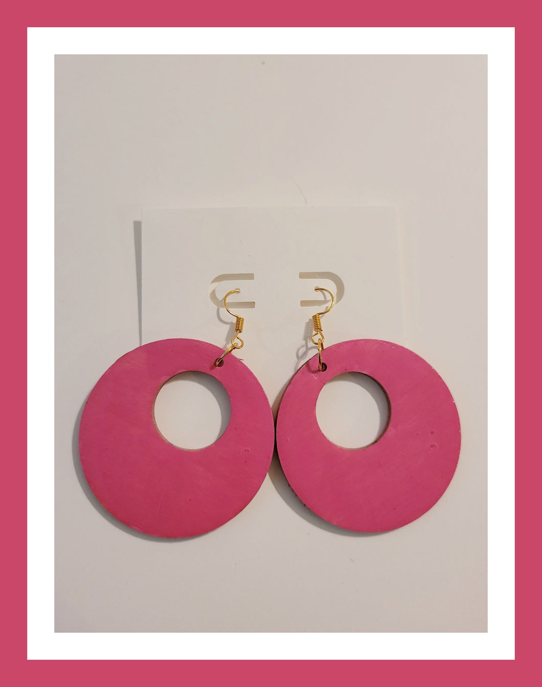 Womens set of 2 earrings, chic glitter - Diva Accessories N More