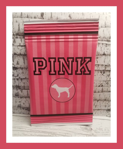 Pink theme printable chip bag, DOWNLOAD ONLY - Diva Accessories N More