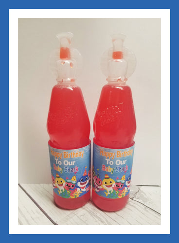 Baby Shark Kool-Aid juice label, DOWNLOAD ONLY - Diva Accessories N More