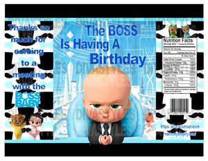 picture about Boss Baby Printable identified as The Manager Youngster 2 printable chip bag, pastel Down load Simply