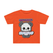 Load image into Gallery viewer, Toddlers Kawaii Panda Tee
