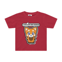 Load image into Gallery viewer, Red Panda Kids Tee
