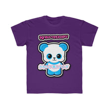 Load image into Gallery viewer, Kids Kawaii Blue Panda Tee