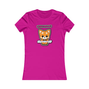 Women's Kawaii Red Panda Tee