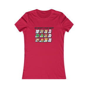 Chinese Signs Women's Favorite Tee