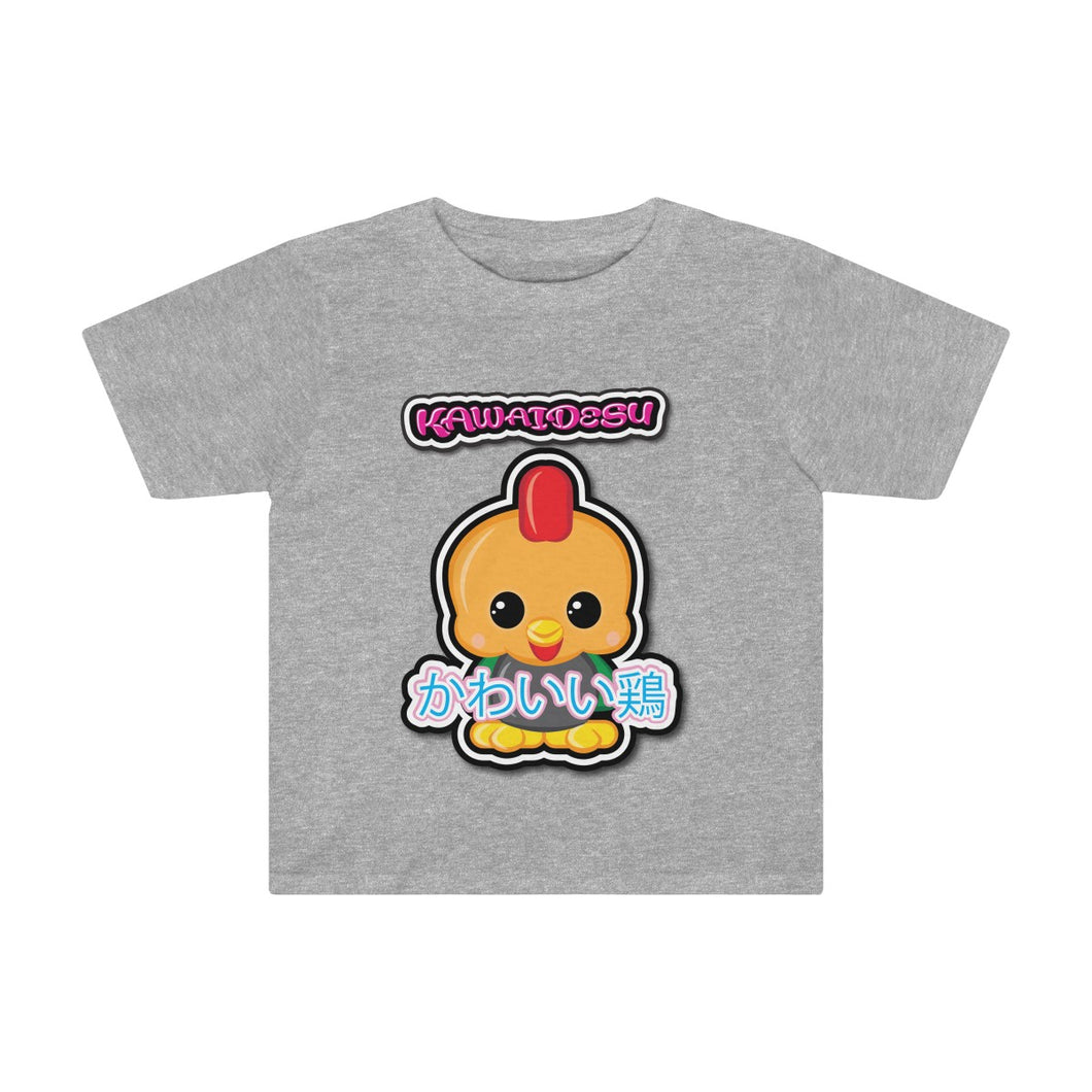 Toddlers Kawaii Rooster Tee