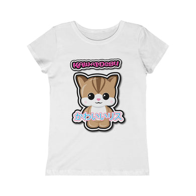 Girls Kawaii Squirrel Tee
