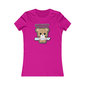 Women's Kawaii Teddy Bear Tee
