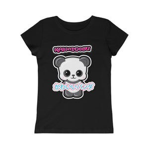 Girls Kawaii Panda Tee