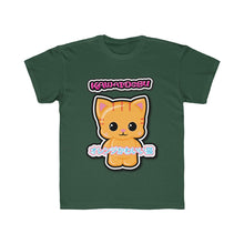 Load image into Gallery viewer, Kids Kawaii Orange Cat Tee